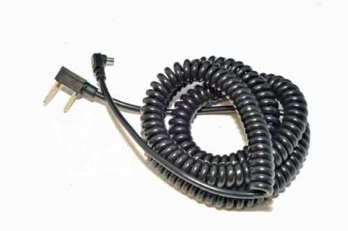 AC-PC Coiled Flash Sync Lead Heavy Duty 5 Meters